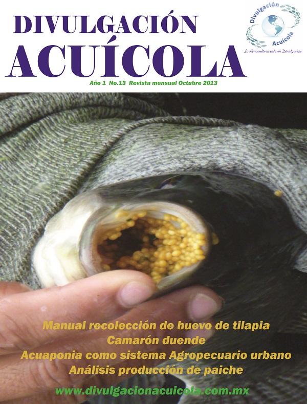 Revista Divulgación Acuícola mes de Octubre