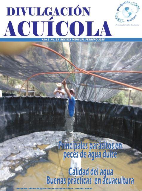 Revista Divulgación Acuícola mes de Febrero 2015