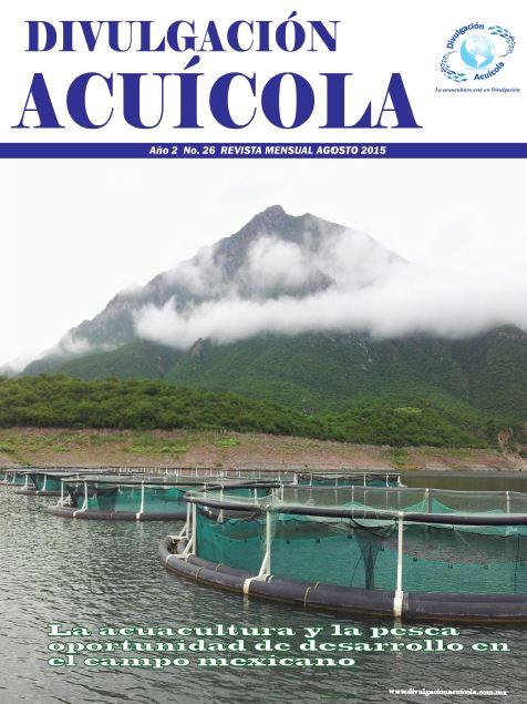Revista Divulgación Acuícola mes de Agosto 2015