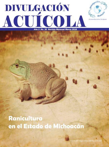 Revista Divulgación Acuícola mes de Marzo