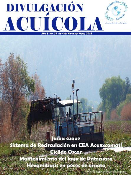 Revista Divulgación Acuícola mes de Mayo 2016