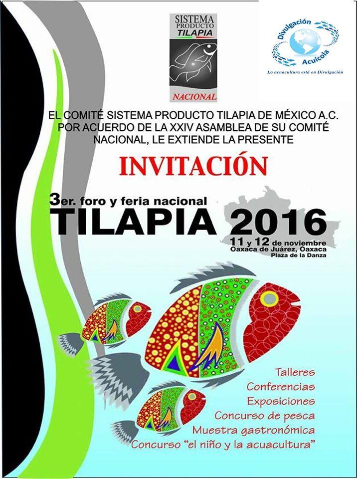 3er foro y feria Nacional Tilapia 2016