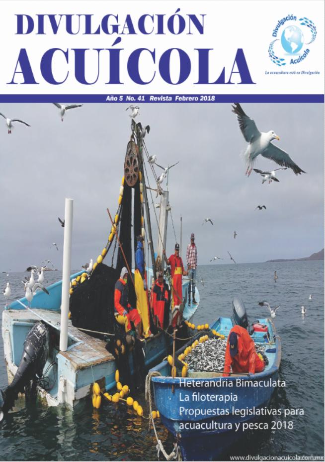 Revista Divulgación Acuícola mes de Febrero 2018