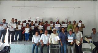 Capacitaciones al sector acuícola del Sureste Mexicano